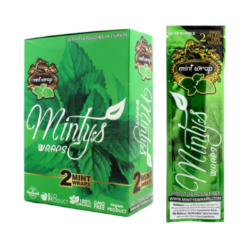 Minty blunt wraps whoelsale